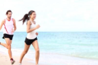 sport - couple running